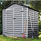more details on Apex Polycarbonate Plastic Skylight Shed - 6 x 5ft.