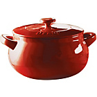 more details on Denby Curved Casserole - Cherry.