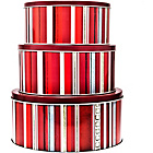more details on Denby Cherry 3 Piece Cake Tin Set.