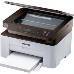 Samsung M2070W A4 Wireless Monochrome Laser All-in-One Printer (White)