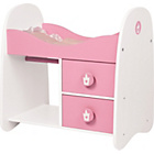 more details on Bayer Design Wooden Doll Bunk Bed & Wardrobe - Pink.