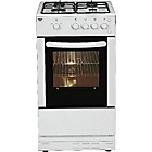 more details on Bush AG56SW Single Gas Cooker- White/Exp Del.