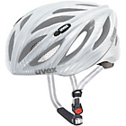 more details on Uvex Boss Race 52-56cm Bike Helmet - Silver.