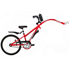 more details on Avenir Tag Single Speed Trailer - Red.
