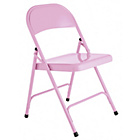 more details on Habitat Macadam Pink Metal Folding Chair.