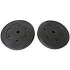 more details on Pro Fitness Set of Vinyl Weights - 2 x 10kg.