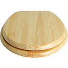 more details on Collection Solid Wood Slow Close Toilet Seat - Natural Pine.