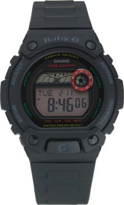 Baby-G by Casio Ladies' Black Tidegraphy Sports Watch