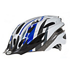 more details on Raleigh Mission 54-58cm Bike Helmet - Blue and Silver.