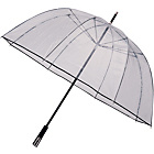 more details on See-Through Deluxe Golf Umbrella - Black.