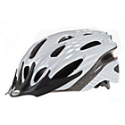 more details on Raleigh Mission 58-62cm Bike Helmet - Silver Shadow.