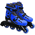 more details on Elektra In Line Boot Skates - Blue.