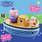 more details on Peppa Pig's Muddy Puddle Bathtime Boat.