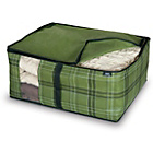 more details on Tartan PP Non Woven 2 Piece Blanket Storage Set - Medium.