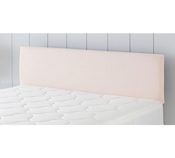 Buy airsprung hollis double headboard cream at for Double headboards uk