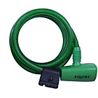 more details on Squire 116 180cm x 10mm Cable Lock - Green.