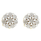 more details on 9ct Gold 0.25ct Diamond Cluster Earrings.
