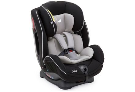 Joie Stages Group 0+ and 1-2 Caviar Car Seat.