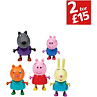 more details on Peppa Pig 5 Figure Pack (2 assorted)