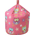 more details on Chad Valley Owl Cotton Beanbag - Multicoloured.