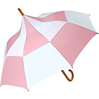 more details on Big Top Umbrella - Pink and White.