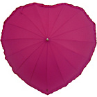 more details on Frilly Heart Umbrella - Hot Pink.