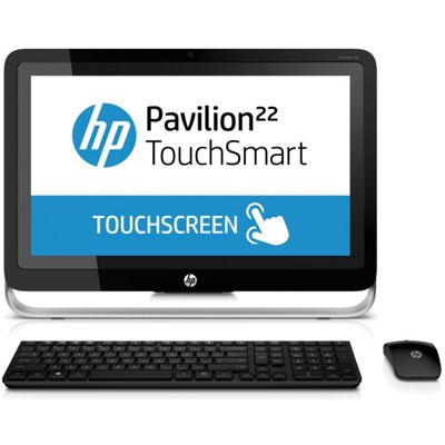 HP 22h010ea TouchSmart AllinOne Desktop PC