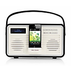 more details on View Quest Retro DAB Radio with iPhone Dock - Black.