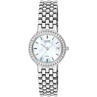 Citizen Womens Eco-Drive Swarovski Crystal Bracelet Watch