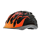 more details on Raleigh Rogue Cycle Helmet With Rogue Flame 52-57cm.