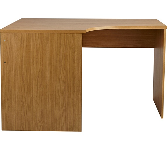 Buy Home Walton Corner Office Desk Oak Effect At Your Online Shop For Desks And