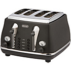 more details on De'Longhi Micalite 4 Slice Toaster - Black.