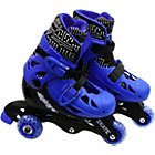 more details on Elektra Tri to In Line Boot Skates - Blue.