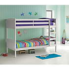 more details on Detachable Single Bunk Bed Frame - White.