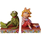 more details on Disney Traditions Miss Piggy and Kermit the Frog Bookends.