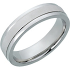 more details on Sterling Silver Heavyweight Diamond Cut Wedding Band - 5mm.