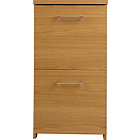 more details on Walton 2 Drawer Filing Cabinet - Oak Effect.