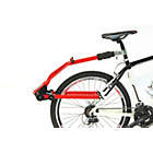 more details on Raleigh Peruzzo Trail Angel Bike Trailer - Red.