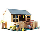 more details on BillyOh Cottage Playhouse with Picket Fence.