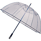 more details on See-Through Deluxe Golf Umbrella - Navy.