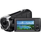 more details on Sony HDR CX240 Full HD Camcorder - Black.