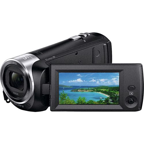 Sony HDR-CX240E 2.51MP 1080p Handycam Camcorder - Black