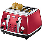 more details on De'Longhi Micalite 4 Slice Toaster - Red.