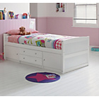 more details on Tilly 2 Drawer Single Cabin Bed - White.