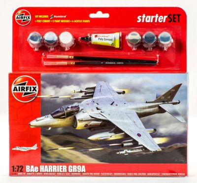 Airfix BAe Harrier GR9A Gift Set