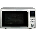more details on Sharp R82STMA Combination Microwave - Stainless Steel.