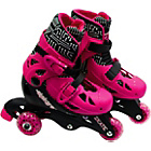 more details on Elektra Tri to In Line Boot Skates - Pink.