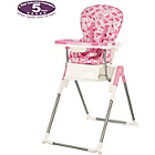 more details on Obaby Nanofold Hi Lo Highchair - Cup Cakes.