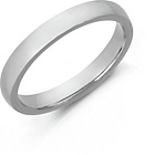 more details on Sterling Silver Heavyweight Wedding Band - 3mm.