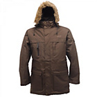 more details on Regatta Men's Feldman Parka ‑ Brown.